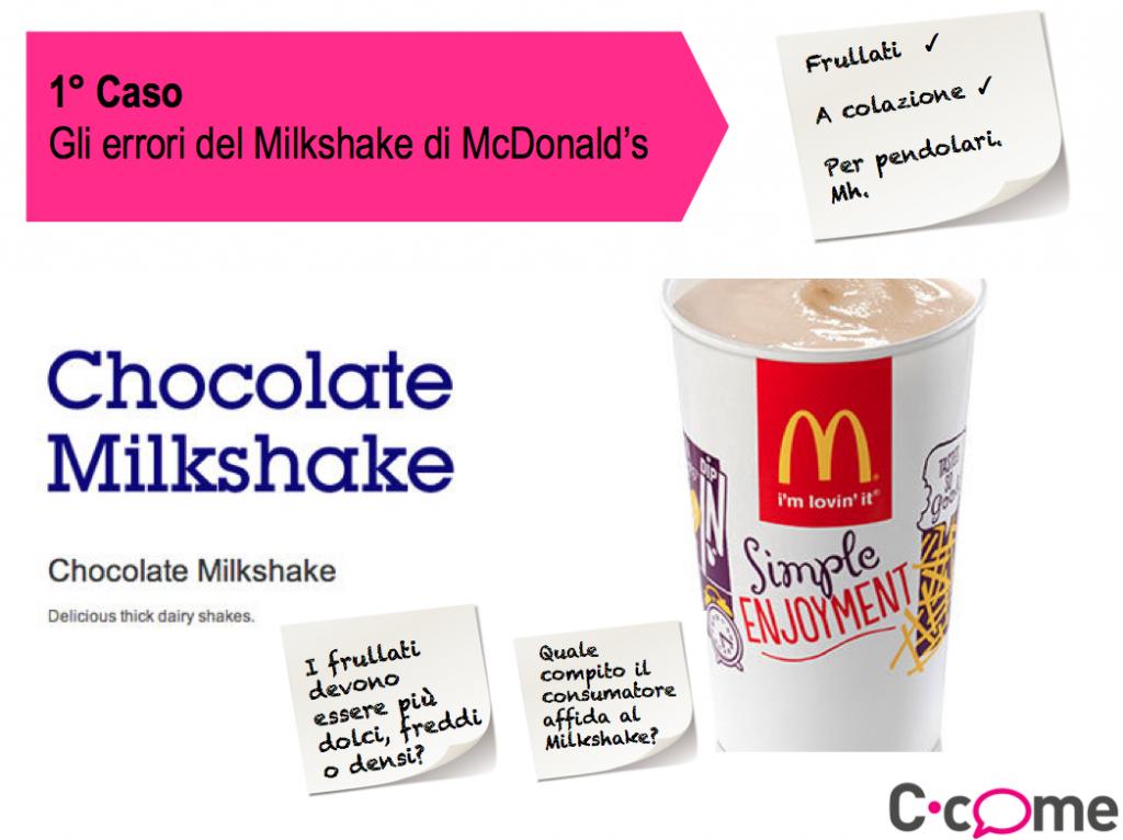 """Come evitare tutti gli """"errori del Milkshake"""" di McDonald's"""