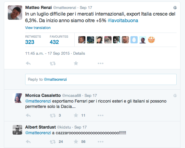 Renzi e la politica troll
